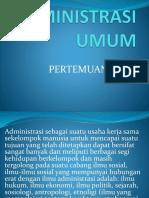 ADMIN. UMUM KE 3