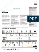 Datasheet DSE8610