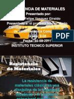 Presentacion Resistencia de Materiales