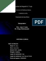 Diapositivas de Caso Sindrome Coronario Agudo