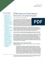COSO Mejora Su Control Interno – Estructura Conceptual Integrada
