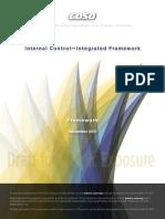 Coso Internal Control Integrated Framework
