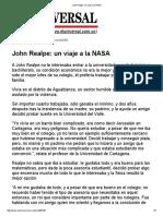 John Realpe_ Un Viaje a La NASA