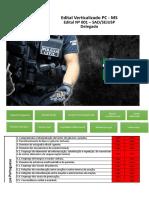 Edital Verticalizado PC MS Delegado