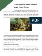 Sejarah Singkat Bangsa Indonesia Sebelum Sampai Kemerdekaan