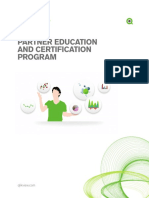 Partner Education and Certification Program QV 11 US Letter