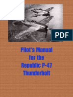 Pilot s Manual for Republic P-47 Thunderbolt