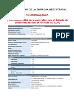 FICHA RNC - Proveeduría médica VDS