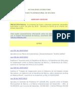 InfoLeyes Bolivia - BDL Al 06-08-2010