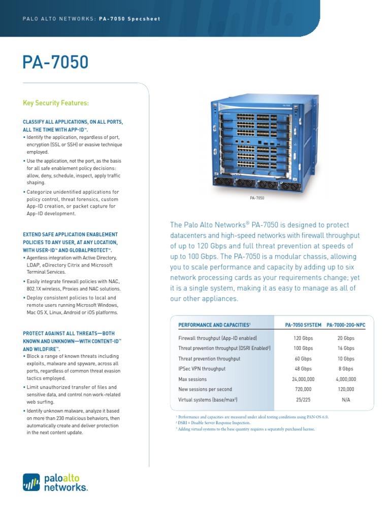 pa-7050 | Ip Address | Firewall (Computing)