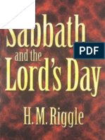 H. M. Riggle - The Sabbath and the Lord's Day