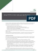 Estudio de la corrosión con HYSYS