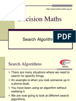 Search Algorithms