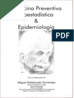 Medicina Preventiva, Bioestadística y Epidemiología
