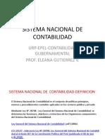 Sistema Nacional de Contabilidad y Principios Unidad de Caja y Almacen