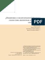 Desertores o decepcionados Causas.pdf