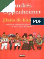 Basta de Historias. Andres Oppenheimer