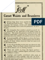 (1914) Corset Waists and Brassieres (Catalogue)