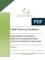 CWM Guidelines - Asbestos