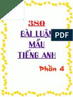 380 Bai Luan Mau Tieng Anh Phan 4