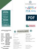 Pta Meeting Program