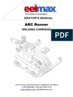 Arc Runner Welding Carriage Operator Manual