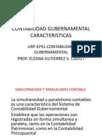 Contabilidad Gubernamental Principios Simultaneidad y Compromiso