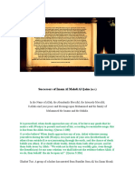 Successors of Imam Mahdi Al Qaim
