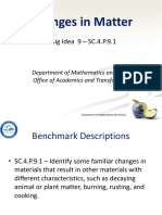 sc 4 p 9 1 - changes in matter ppt  1