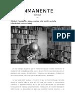 Foucault SexoPoderylaPoliticadelaidentidad