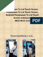 Penyewaan Tv Lcd Touch Screen, Penyewaan Tv Lcd Touch Screen, Android Penyewaan Tv Lcd Touch Screen Indonesia, 0812 9615 1115