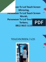 Persewaan Tv Lcd Touch Screen Mirroring,Persewaan Tv Lcd Touch Screen Murah,Persewaan Tv Lcd Touch Screen Terbaru,0812 9615 1115