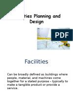 Facility Planning