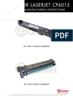HP CP 6015 Reman Eng