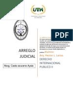 ARREGLO JUDICIAL