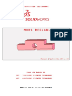 Formation d'initiation SolidWorks [Partie 1 de 5]