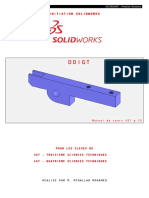 Formation d'initiation SolidWorks [Partie 3 de 5]