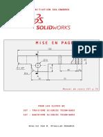 Formation d'initiation SolidWorks [Partie 5 de 5]