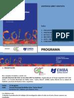 ColorenlasArtes2017 PROGRAMA