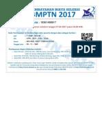 Slip Pembayaran Biaya Seleksi SBMPTN 2017 (2)(Autosaved)