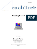 Peachtree Training Manual