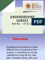 Undergroundsurvey