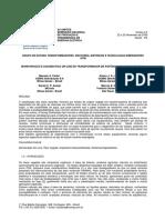 Monitoração e Diagnóstico on-line de Transformador de Potência Com Óleo Vegetal - Artigo