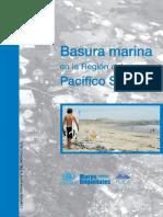 Basura Marina en La Región Del Pacífico Sudeste CPPS