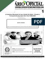 Lei Municipal Nº011- 2014