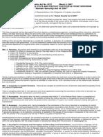 RA 9372_Human Security Act of 2007