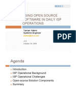 Open Source ISP Operations