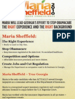 Georgia's Maria Sheffield