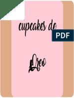 Etiqueta Cupcakes Oreo