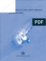 Adherence to Long-term Therapies